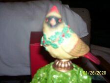 Lenox Female Cardinal Topiary- (resin) NEW IN BOX
