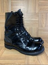 VNTG🇺🇸 Double H Brand Jump Boots Military Cap Toe Made in USA Sz 11.5 Men's