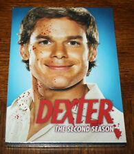 DEXTER The Second Season DVD Showtime Michael C Hall 2008 4 Disc Set MINT SEALED