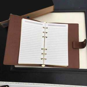 Mini Diary Notebook Canvas Paper Travel 9 colors For Student Writing Gift New
