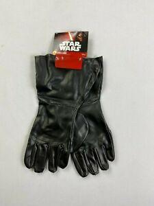 Rubies Star Wars Darth Vader Adult Costume Gloves READ! NEW BJ