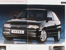 CATALOGUE OPEL F ASTRA GSI 16V // CLIO WILLIAMS GOLF 2 GTI 309 Kadett 1/18