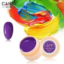 CANNI Professional Paint Supply LED UV Color Gel Soaks Liquid Nail Polish