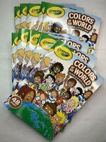 LOT 10 Crayola Colors of the World Coloring & Activity Book Landmarks/Diversity