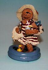 "Boyds Bears #227786 ""Esther Hippydipper"" swimming fun, beach, pool 2001 Nib,"