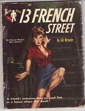GIL BREWER - 13 FRENCH STREET    Phantom pulp crime