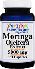 Moringa Oleifera Extract 5000mg -180 capsule  for anti-aging and health