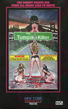 The Turnpike Killer VHS & DVD Big Box Grindhouse Exploitation New Release VHS