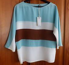 BNWT Henry Cottons Stunning 100% Silk Blouse, Size 42 (UK 10) Brand New!