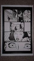 David Finch BATMAN 16 pg 19 REBIRTH - SEXY GOTHAM GIRL with BATMAN & ALFRED