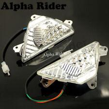 Turn Signal Light LED Front For Kawasaki Ninja 300 2013 2014 2015 EX300A Clean