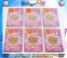 CUCCIOLI CERCA AMICI QUASI COMPLETA VOL. 3-4-5-6-7-8 Medusa Video 6 DVD NUOVI
