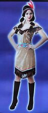 ADULT WOMENS CHARMING INDIAN OSFM ONE SIZE HALLOWEEN COSTUME