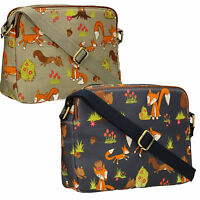 SWANKYSWANS Womens Ladies Fox Squirrel Crossbody bag Designer Handbag