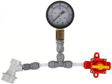 Kegland BlowTie Diaphragm Spunding Valve - Adjustable PRV 0-60 PSI Ball Lock