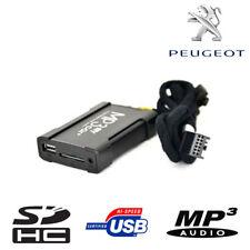 Boitier USB SD AUX MP3 Peugeot RD4 207 307 3008 5008 1007 407 Jumpy Boxer Nemo