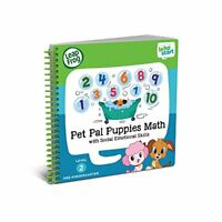 LeapFrog LeapStart Preschool Activity Book Pet Pal Puppies Maths  Social Emoti