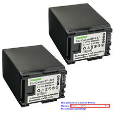 Kastar Replacement Battery for Canon BP-827 BP827 CG-800 & Canon XA10 Camcorder