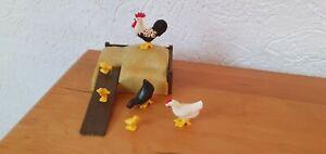 Playmobil Figurine Animal Animals Chicken To Nature Farm Medieval Etc