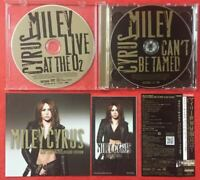 Miley Cyrus Can't Be Tamed (Deluxe Edition) JAPAN CD+DVD with OBI & STICKER