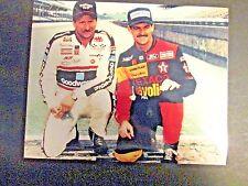 Dale Earnhardt  &  Davey Allison at the Brickyard Glossy 8x10