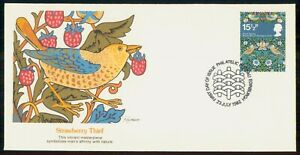 Mayfairstamps GREAT BRITAIN FDC 1982 COVER STRAWBERRY THIEF wwk7767