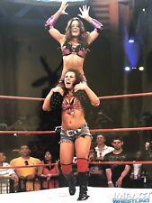 Brooke Adams Miss Tessmacher Mickie James Action Shot 8x10 TNA WWE IMPACT