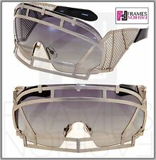 ef30f1c2cb KTZ x Linda Farrow Football Helmet Sunglasses Gold Grey Gradient KTZ1