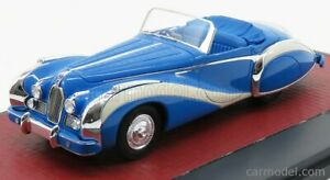MODELLINO AUTO TALBOT LAGO T26 GRAND SPORT CABRIOLET SAOUTCHIK OPEN 1948 BLUE