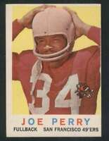 1959 Topps #80 Joe Perry EXMT/EXMT+ 49ers 70862