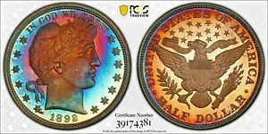 1892 50c PCGS PR66+ CAM Barber Half Dollar (Irreplaceable Coloration!)