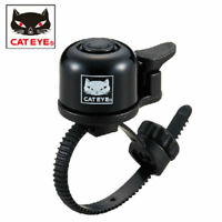 CATEYE Bicycle Handlebar MTB Loud Speaker Roud Bike Bell Ring Safety Alarm Black