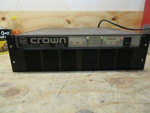 CROWN COM-TECH 810 Professional Power Amplifier