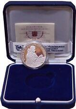 5 Euro VATICANO 40 Giornata Mondiale della Pace ARGENTO BENEDETTO XVI 2007 PROOF