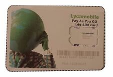 Lyca Mobile Pay as you go Trio SIM Card Standard / Micro / Nano
