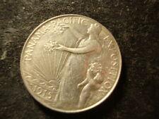 1915-S AU Pan Pac Panama Pacific Commemorative Comm Half Dollar FLA