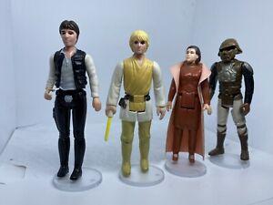 Konvolut Original Kenner STAR WARS Vintage Luke, Han Solo, Leia, Lando