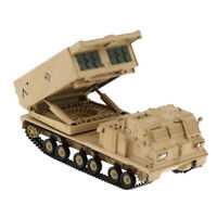 M270 Multiple Launch Rocket System Diecast 1:72 MLRS Launcher Tank Model Toy