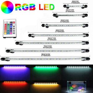 LED Submersible Light Bar Lamp RGB 5050 SMD for Aquarium Fish Tank + Controller