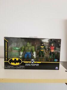 The Caped Crusader DC Swamp Showdown Killer Croc Batman Robin 1st Edition