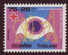 Thailand 1979  MNH, Surtax for Red Cross, Eye Donation, Blind, Handicaps- Rs81