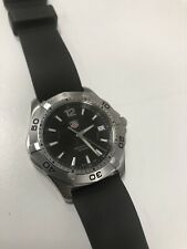Tag Heuer Aquaracer WAF1110 Black Dial 300m Just Serviced Divers Watch