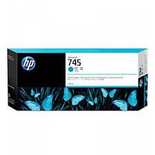 ORIGINAL HP 745 cian alta Capacidad Cartucho de Tinta (f9k03a)