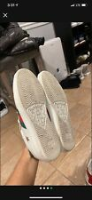 Gucci Ace Sneakers men size 9.5 us (Gucci sz 8.5)