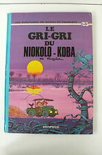 SPIROU ET FANTASIO LE GRI-GRI DU NIOKOLO-KOBA EO DUPUIS 1974  DOS ROND