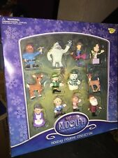 Memory Lane Rudolph Island of Misfit Toys w/ Bumble Holiday Figurine Collection