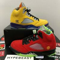 Nike Air Jordan 5 Retro SE What The Size 10 DS BRAND NEW NEVER WORN CZ5725-700