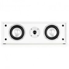 Auna Line 300 CN WH Powerful 2 Way Stereo Passive Centre Speaker 35 W RMS White