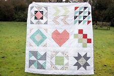 """Handmade Quilt - Measures Approx. 62""""/155cm Square (Daysail By Bonnie & Camille)"""