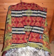 Pendleton Wool Reversible Southwestern Native American Style Cape Blanket Jacket